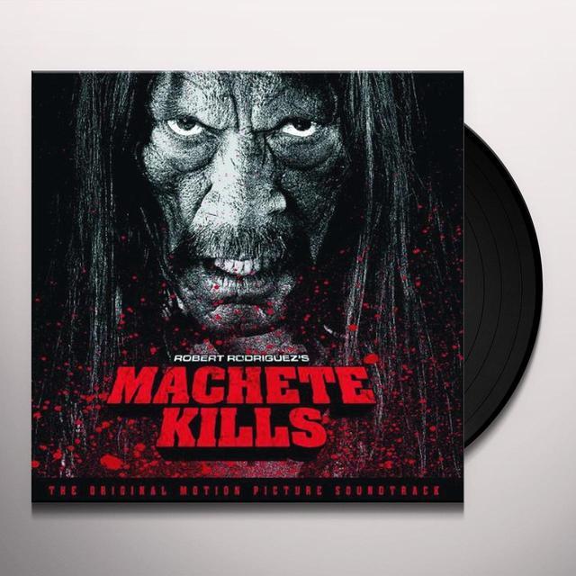 MACHETE KILLS / O.S.T. (GER) Vinyl Record