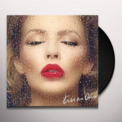 Kylie Minogue KISS ME ONCE (FRA) Vinyl Record