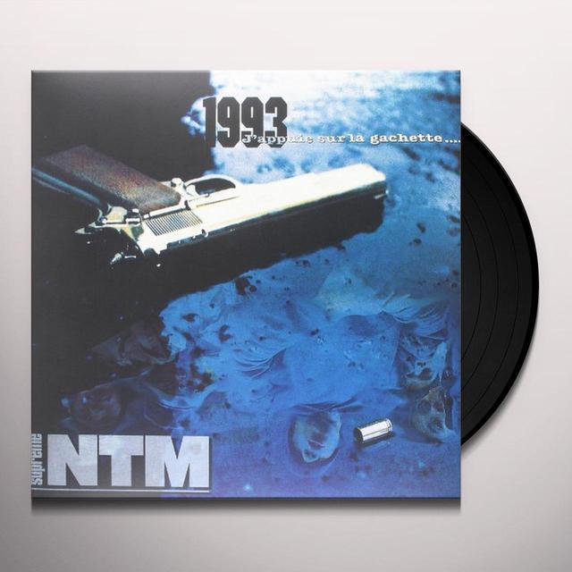 Supreme Ntm 1993 J'APPUIE SUR LA GACHETTE Vinyl Record - Holland Import