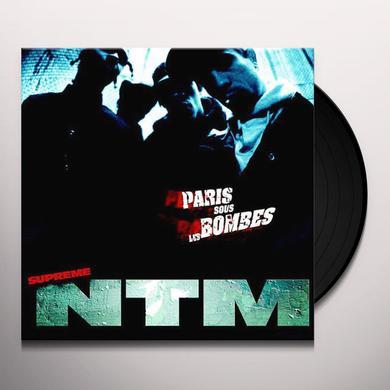 Supreme Ntm PARIS SOUS LES BOMBES Vinyl Record
