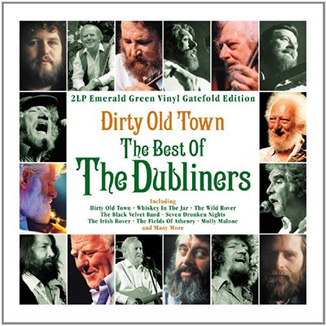 Dubliners DIRTY OLD TOWN: THE BEST OF Vinyl Record - UK Import