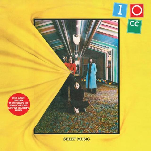 10cc SHEET MUSIC Vinyl Record