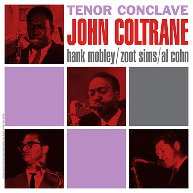 John Coltrane TENOR CONCLAVE Vinyl Record