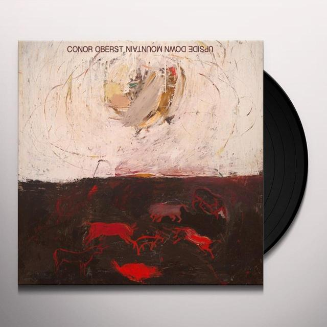 Conor Oberst UPSIDE DOWN MOUNTAIN Vinyl Record - w/CD