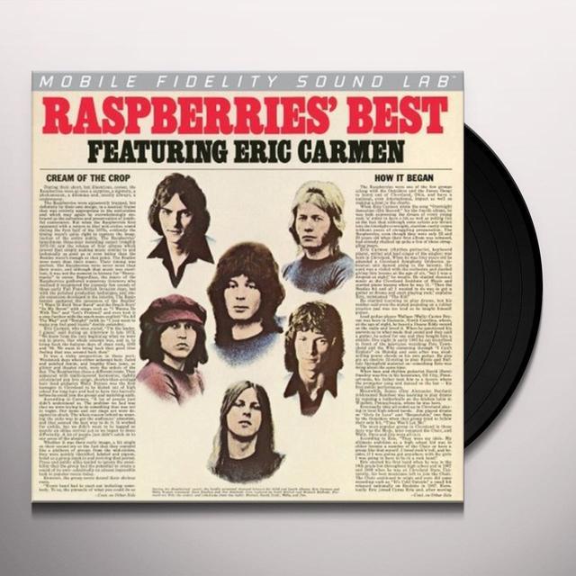 RASPBERRIES BEST FEATURING ERIC CARMEN Vinyl Record