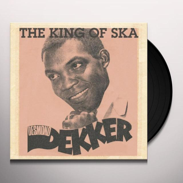 Desmond Dekker KING OF SKA Vinyl Record