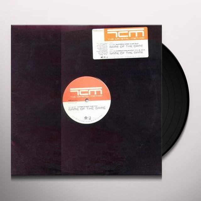 Crystal Method NAME OF THE GAME Vinyl Record