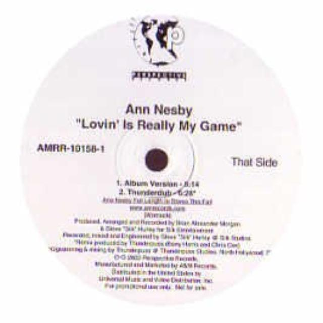 Ann Nesby LOVIN' IS REALLY MY GAME Vinyl Record