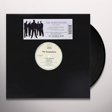 The Temptations I'M HERE (METRO MIX) Vinyl Record