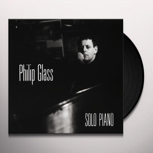 Philip Glas SOLO PIANO Vinyl Record