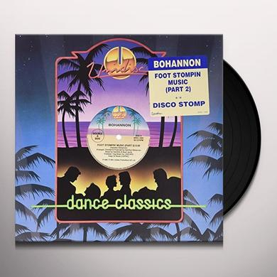 Bohannon FOOT STOMPIN MUSIC/DISCO STOMP Vinyl Record - Canada Import