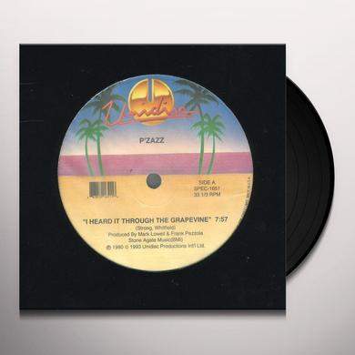 Pzazz/Champagne I HEARD IT THROUGH T/LOVE NOW HURT LATER Vinyl Record - Canada Import