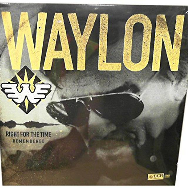 Waylon Jennings RIGHT FOR THE TIME (REMEMBERED) Vinyl Record