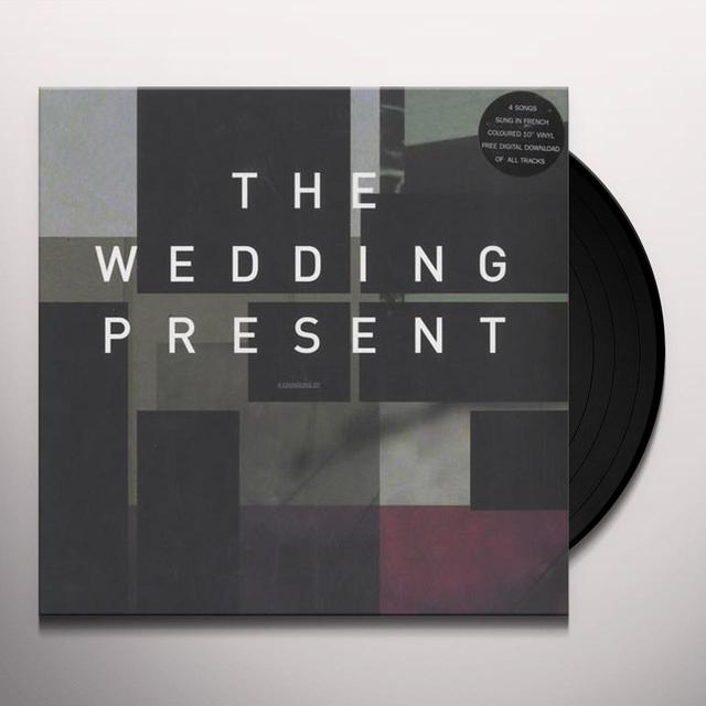 The Wedding Present 2014 RSD SINGLE (GERMAN VERSIONS) Vinyl Record