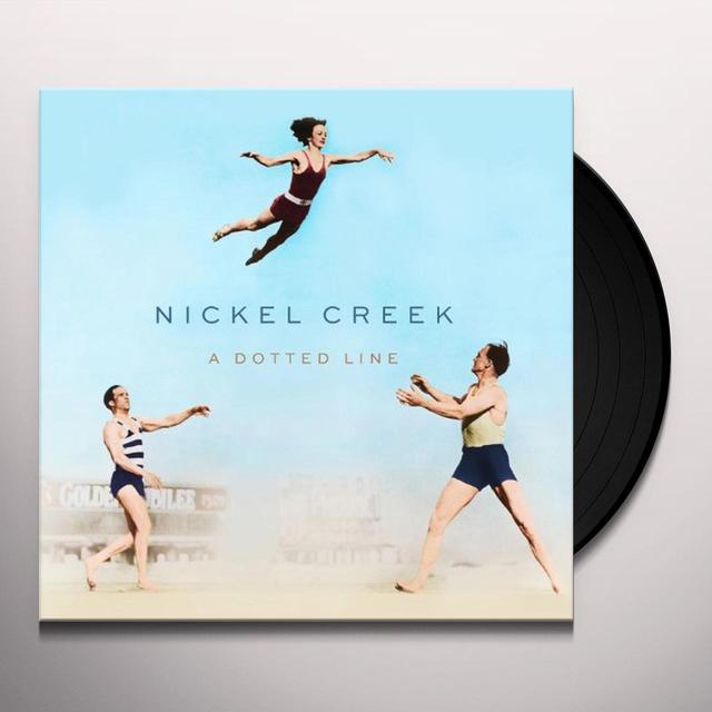 Nickel Creek DOTTED LINE (BONUS CD) Vinyl Record