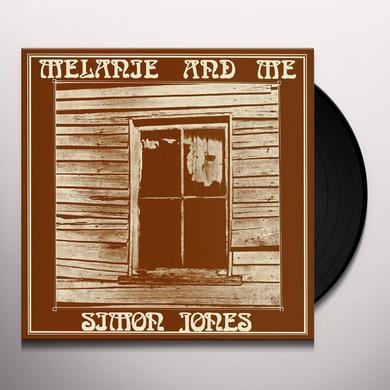 Simon Jones MELANIE & ME Vinyl Record - Limited Edition, Poster, Reissue