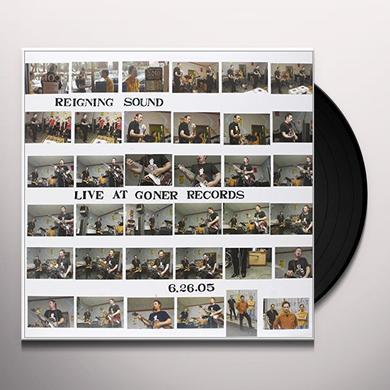 Reigning Sound LIVE AT GONER RECORDS Vinyl Record