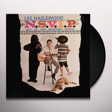 Lee Hazlewood N.S.V.I.P.'S (NOT SO VERY IMPORTANT PEOPLE) Vinyl Record