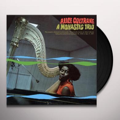 Alice Coltrane A MONASTIC TRIO Vinyl Record