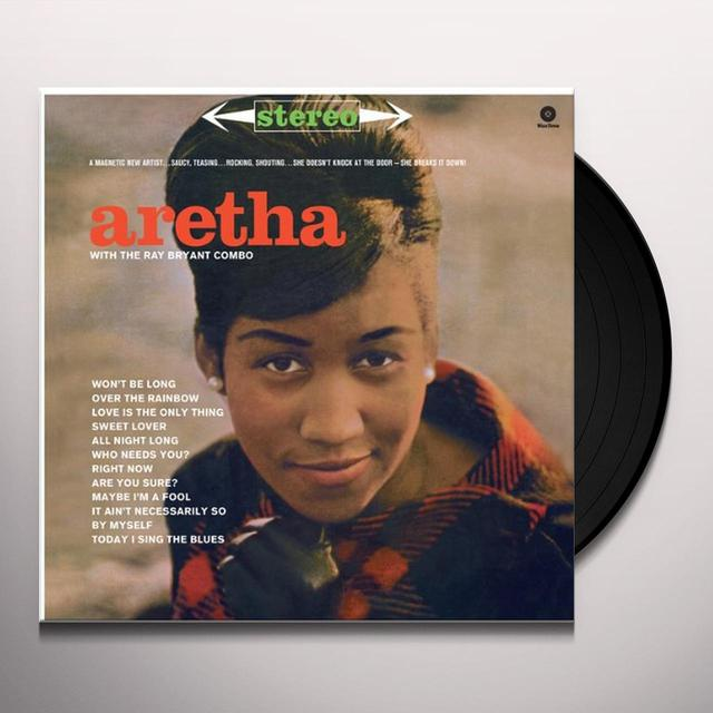Aretha Franklin WITH THE RAY BRYANT COMBO Vinyl Record - Spain Import