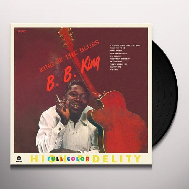 B.B. King KING OF THE BLUES Vinyl Record - Spain Import