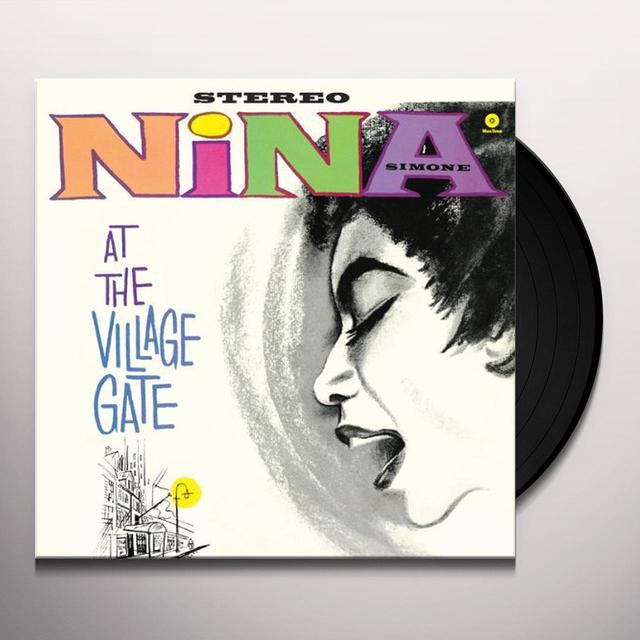 Nina Simone AT THE VILLAGE GATE Vinyl Record - Spain Import