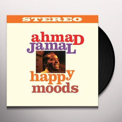 Ahmad Jamal HAPPY MOODS Vinyl Record - Spain Release