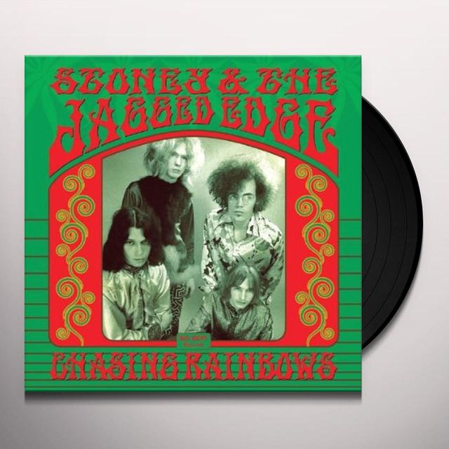 Stoney & The Jagged Edge CHASING RAINBOWS Vinyl Record - UK Import