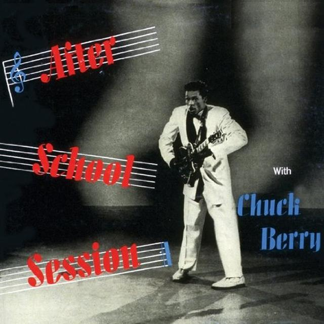 Chuck Berry AFTER SCHOOL Vinyl Record - UK Import