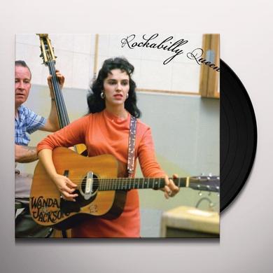 Wanda Jackson ROCKABILLY QUEEN Vinyl Record - UK Import