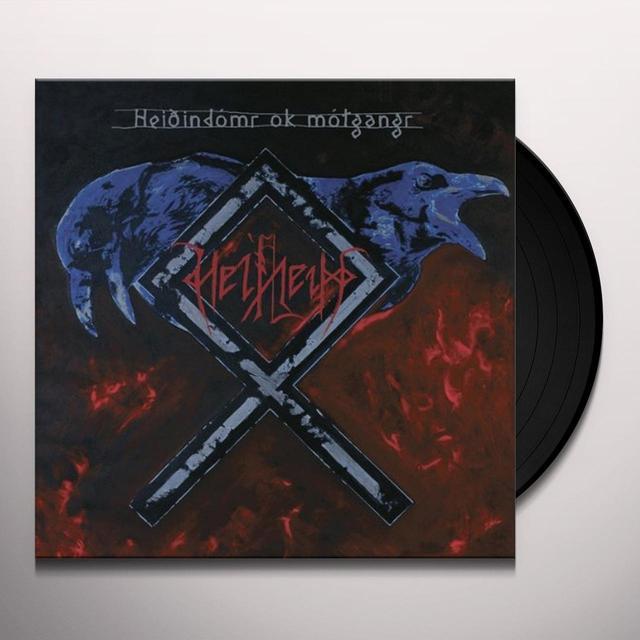 Helheim HEIOINDOMR OK MOTGANGR Vinyl Record - UK Import