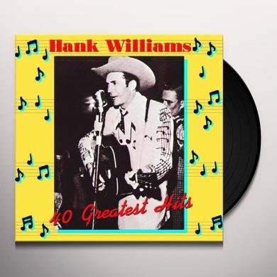 Henk Williams 40 GREATEST HITS Vinyl Record - Holland Import