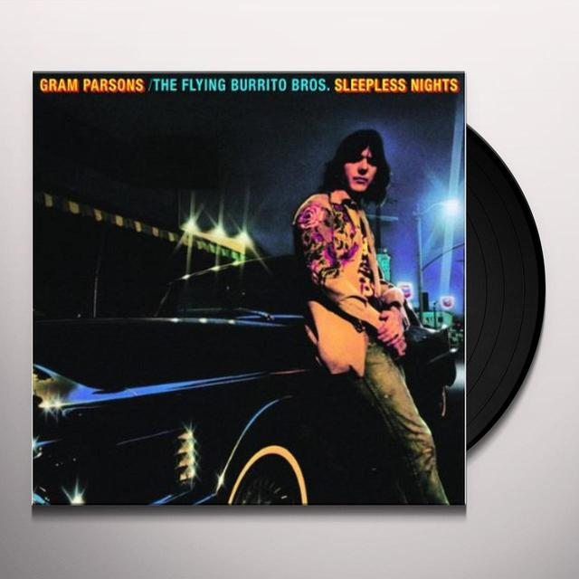 Gram Parsons SLEEPNESS NIGHTS Vinyl Record - Holland Release