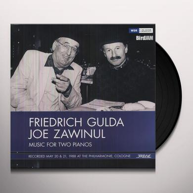 Friedrich Gulda & Joe Zawinul MUSIC FOR TWO PIANOS Vinyl Record