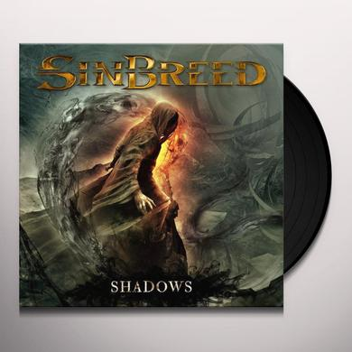 Sinbreed SHADOWS (BLACK VINYL) Vinyl Record