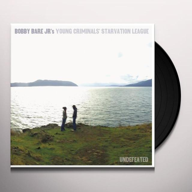Bobby Jr Bare UNDEFEATED Vinyl Record