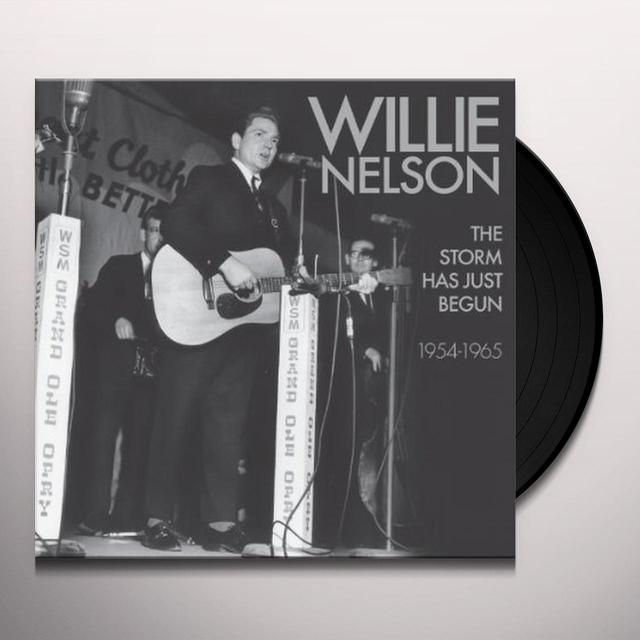 Willie Nelson STORM HAS JUST BEGUN Vinyl Record