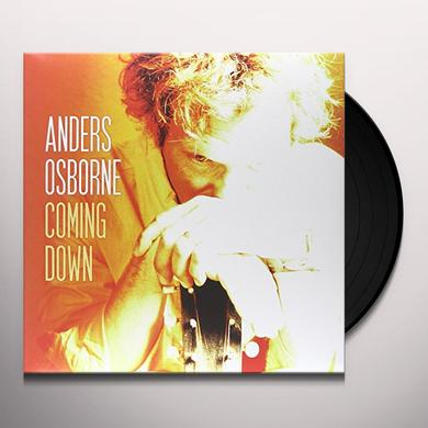 Anders Osborne COMING DOWN Vinyl Record