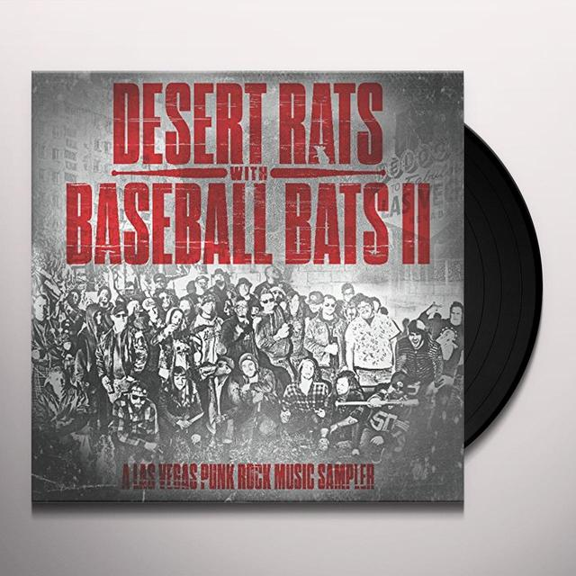 DESERT RATS WITH BASEBALL BATS II / VARIOUS (DLCD) DESERT RATS WITH BASEBALL BATS II / VARIOUS Vinyl Record