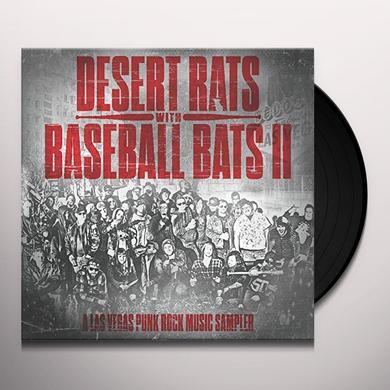 DESERT RATS WITH BASEBALL BATS II / VARIOUS (DLCD) DESERT RATS WITH BASEBALL BATS II / VARIOUS Vinyl Record - Limited Edition