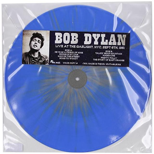 Bob Dylan LIVE AT THE GASLIGHT NYC SEPTEMBER 6TH 1961 Vinyl Record