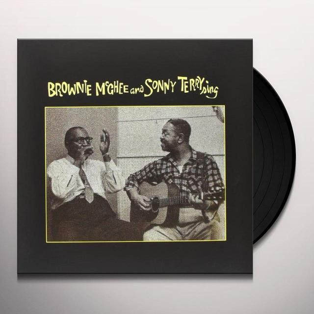 Brownie Mcghee & Sonny Terry SING Vinyl Record
