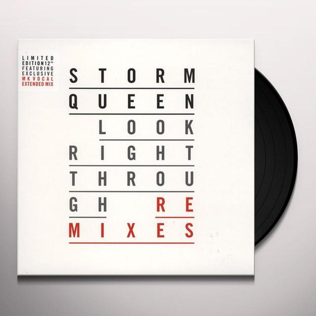 Storm Queen LOOK RIGHT THROUGH (REMIXES) Vinyl Record - UK Release
