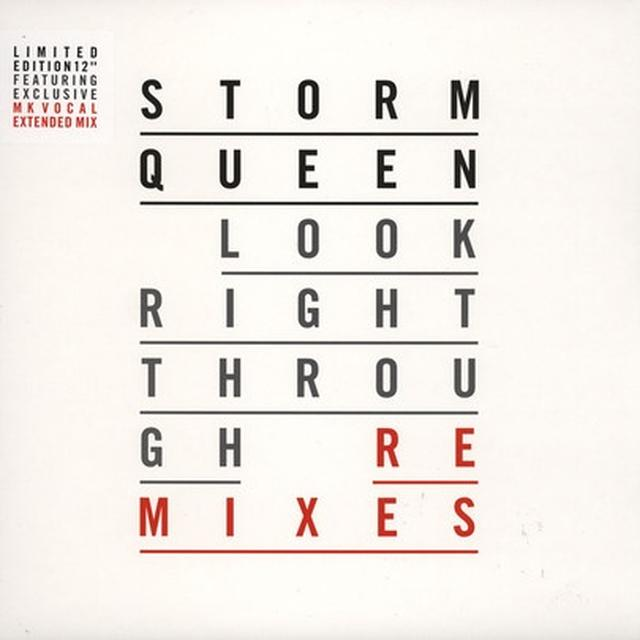 Storm Queen LOOK RIGHT THROUGH (REMIXES) Vinyl Record - UK Import