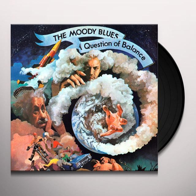 The Moody Blues QUESTION OF BALANCE Vinyl Record - Gatefold Sleeve, Limited Edition, 180 Gram Pressing
