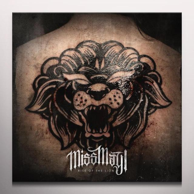 Miss May I RISE OF THE LION (BONUS CD) Vinyl Record - Colored Vinyl