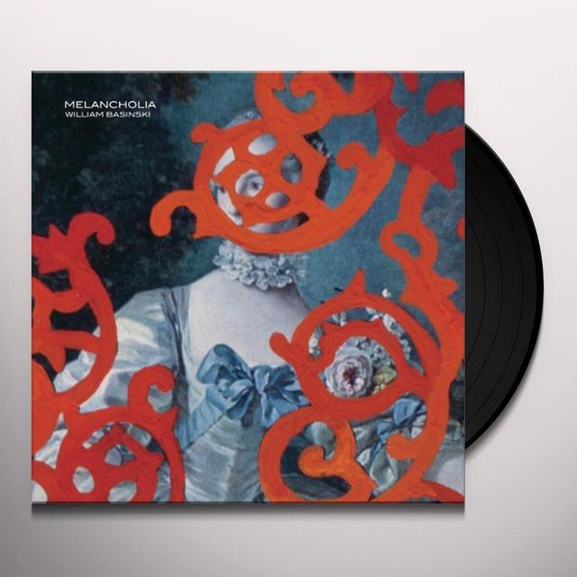 William Basinski MELANCHOLIA Vinyl Record