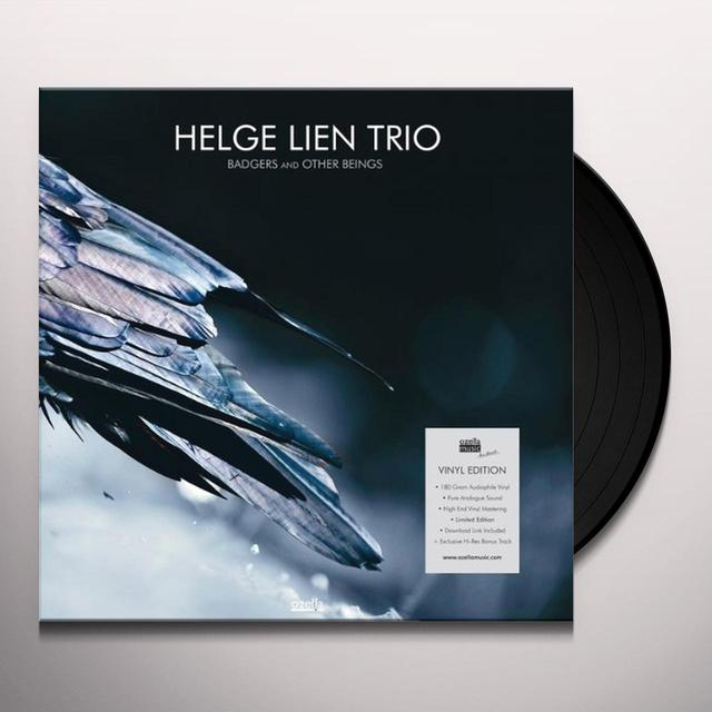 Helge Lien Trio BADGERS & OTHER BEINGS (UK) (Vinyl)