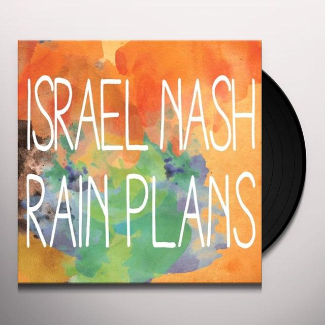 Israel Nash RAIN PLANS Vinyl Record - UK Import