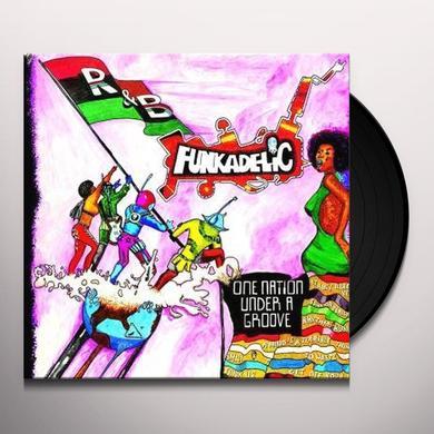 Funkadelic ONE NATION UNDER A GROOVE Vinyl Record - UK Import